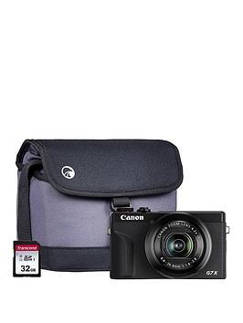 canon-canon-powershot-g7x-mkiii-black-camera-inc-additional-nb-13l-battery-32gb-sd-bag