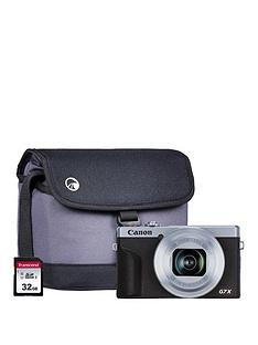 canon-canon-powershot-g7x-mkiii-silver-camera-inc-additional-nb13l-battery-32gb-sd-bag