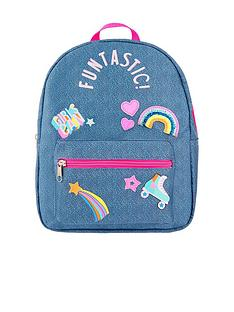 accessorize-funtastic-badges-backpack-blue