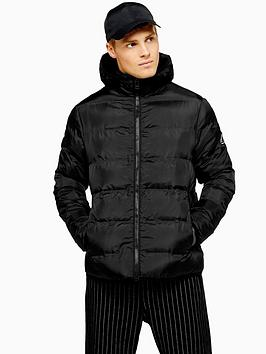 topman-topman-hooded-padded-jacket-black