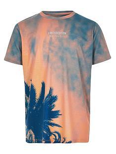 river-island-boys-tie-dye-palm-print-t-shirt-orange