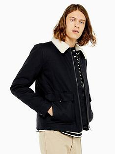 topman-topman-michigan-borg-collar-jacket-navy