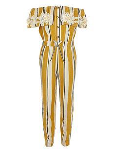 river-island-girls-stripe-bardot-jumpsuit-yellow