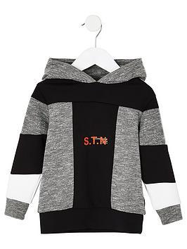 river-island-mini-mini-boys-ri-active-stn-grindle-hoodie-grey