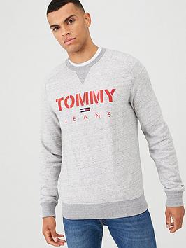 Tommy Jeans Tommy Jeans Crew Neck Sweatshirt - Grey Melange Picture