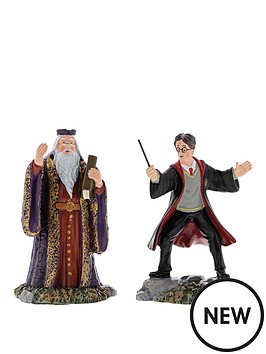harry-potter-harry-and-the-headmaster-figurine-new