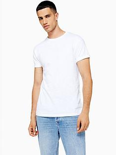 topman-topman-muscle-fit-roller-t-shirt-white
