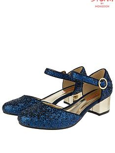 monsoon-storm-samara-glitter-two-part-shoe-navy