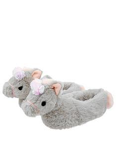 monsoon-heidi-horse-slipper-boots-grey