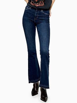 topshop-jamie-high-waist-stretch-flare-jeans-indigo