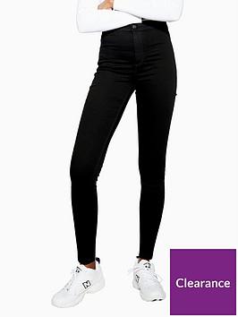 topshop-joni-pure-black-stretch-skinny-jeans-black
