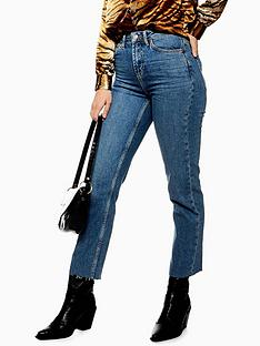 topshop-topshop-mid-blue-high-waist-straight-jeans-mid-blue