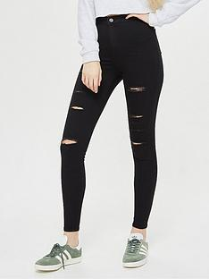 topshop-rip-joni-super-high-waisted-power-stretch-black-skinny-jeans