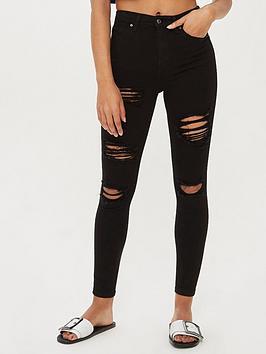 topshop-topshop-rip-jamie-super-high-waisted-black-skinny-jeans