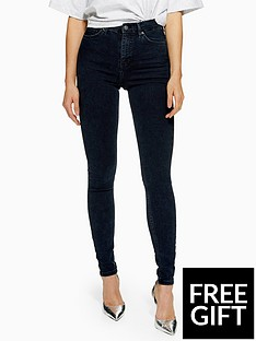 topshop-topshop-jamie-super-high-waisted-blue-black-skinny-jeans