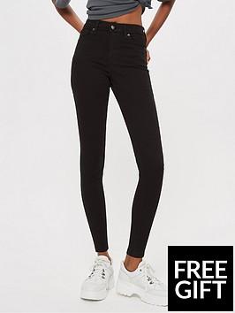 topshop-topshop-jamie-super-high-waisted-black-skinny-jeans