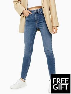 topshop-topshop-jagged-hem-jamie-skinny-jeans-mid-blue