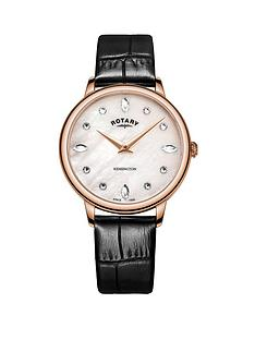 rotary-rotary-kensington-mother-of-pearl-swarovski-crystal-and-rose-gold-detail-dial-black-leather-strap-ladies-watch