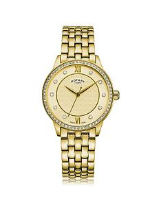rotary-exclusive-rotary-textured-champagne-swarovski-set-dial-gold-stainless-steel-bracelet-ladies-watch