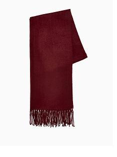 topman-topmannbspclassic-woven-scarf-burgundy