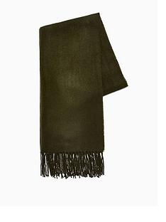 topman-topmannbspclassic-woven-scarf-khaki
