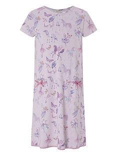 monsoon-vivianna-unicorn-short-sleeve-nightdress-lilac