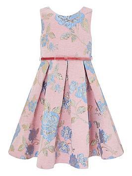 monsoon-chenille-jacquard-dress-pink