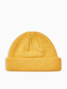 topman-topman-docker-beanie-mustard