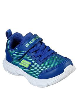 Skechers Skechers Toddler Boys Advange Intergrid Trainers - Blue Picture