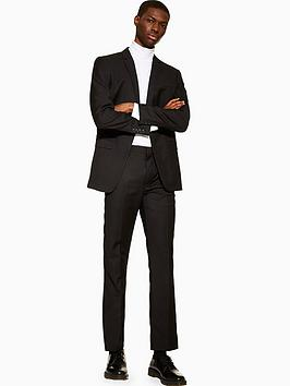 Topman Topman Topman Slim Fit Suit Trousers - Black Picture