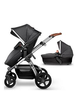Silver Cross Silver Cross Wave 2019 Pushchair & Carrycot Picture