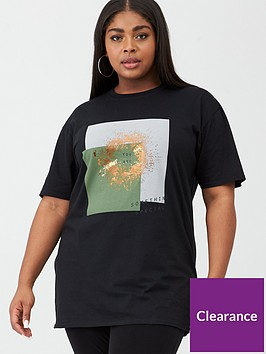 v-by-very-curve-something-special-tee-print