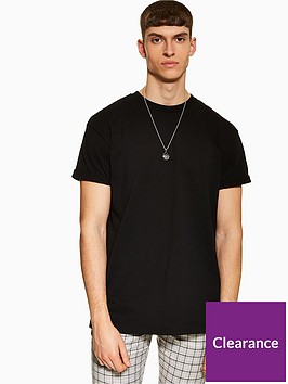 topman-topman-oversized-t-shirt-black