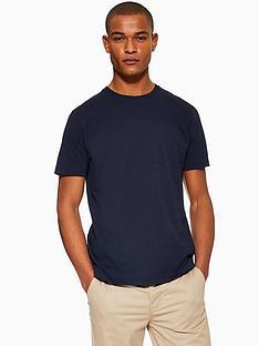 topman-topman-classic-crew-neck-t-shirt-navy