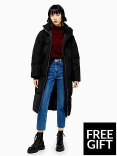 topshop-topshop-longline-padded-jacket-black