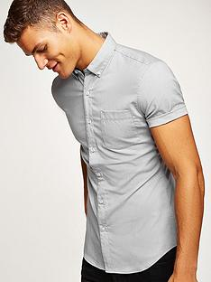 topman-topman-short-sleeve-shirt-grey