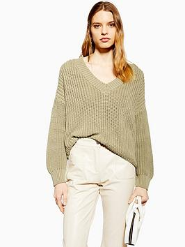 topshop-v-neck-boxy-fit-knitted-jumper