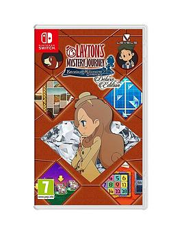 Nintendo   Layton'S Mystery Journey: Katrielle And The Millionaires' Conspiracy - Switch