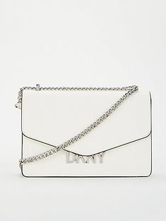 dkny-penelope-flap-shoulder-bag-white