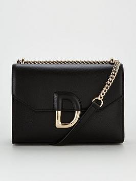 DKNY Dkny Von Flap Shoulder Bag - Black Picture