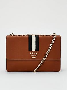 dkny-liza-medium-shoulder-flap-bag-caramel