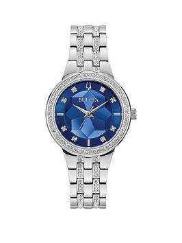 bulova-bulova-phantom-blue-and-crystal-set-kaleidoscope-dial-stainless-steel-bracelet-ladies-watch