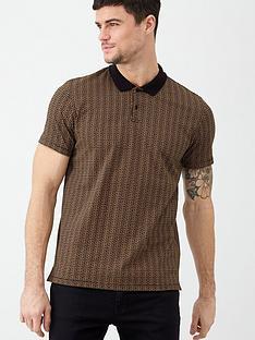 v-by-very-printed-geometric-polo-shirt-blacktan