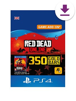 sony-red-dead-online-350-gold-bars
