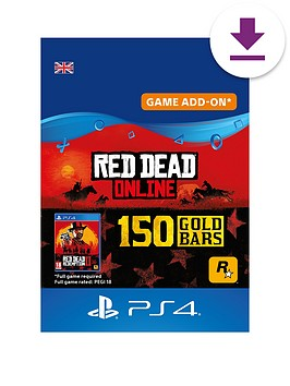 sony-red-dead-online-150-gold-bars