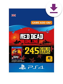 sony-red-dead-online-245-gold-bars
