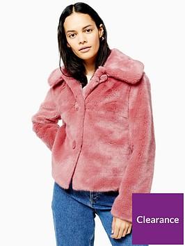 topshop-faux-fur-button-up-short-jacket