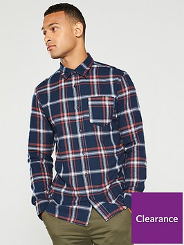 jack-jones-brook-long-sleeved-shirt-navyred