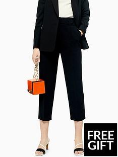 topshop-topshop-buckle-peg-leg-trousers-black