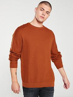 jack-jones-premium-post-knitted-jumper-umber